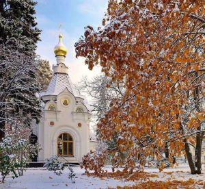 chiesa russa neve