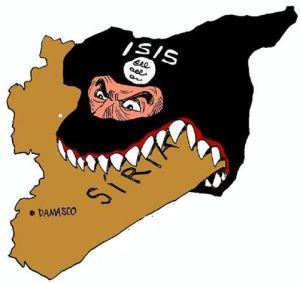 ISIS MANGIA SIRIA