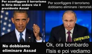 PUTIN CONTRO OBAMA ISIS
