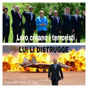 PUTIN CONTRO TERRORISTI