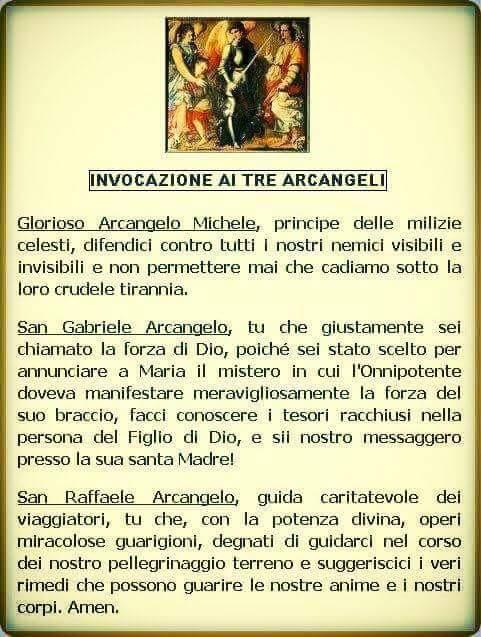 arcangeli-preghiera