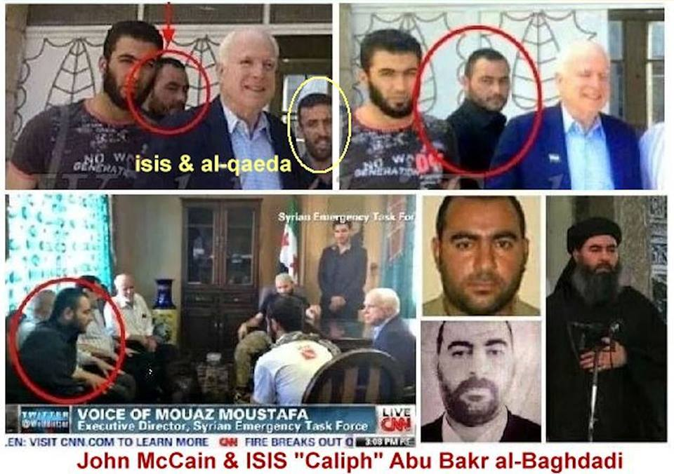 Image result for mccain isis