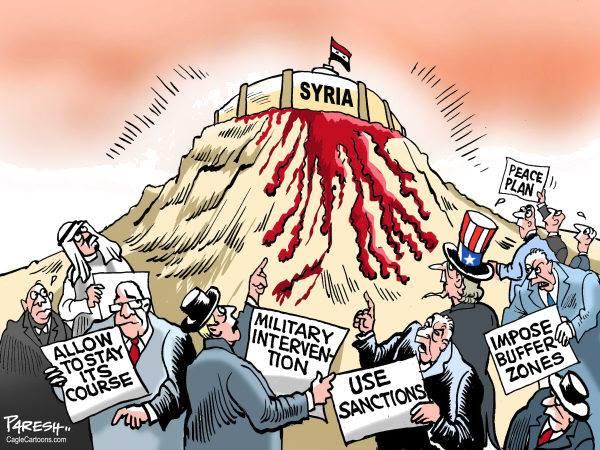 siria-nemici