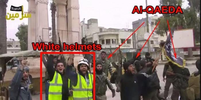 SIRIA ELMETTI BIANCHI TERRORISTI
