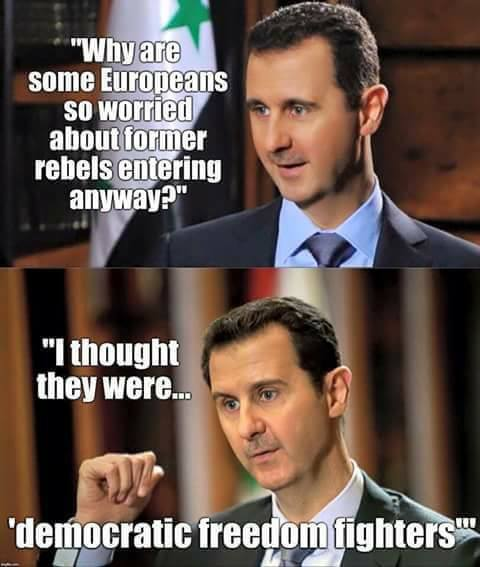 ASSAD VERITA' USA UE