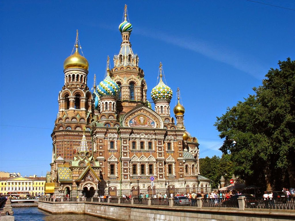 CHIESA Church of the Resurrection of Christ St. Petersburg