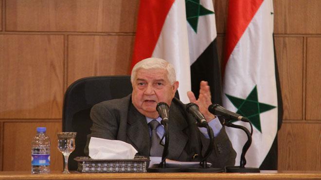 SIRIA MINISTRO Al-Moallem