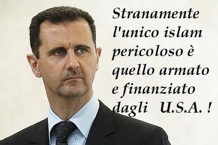 ASSAD CONTRO USA ISLAM
