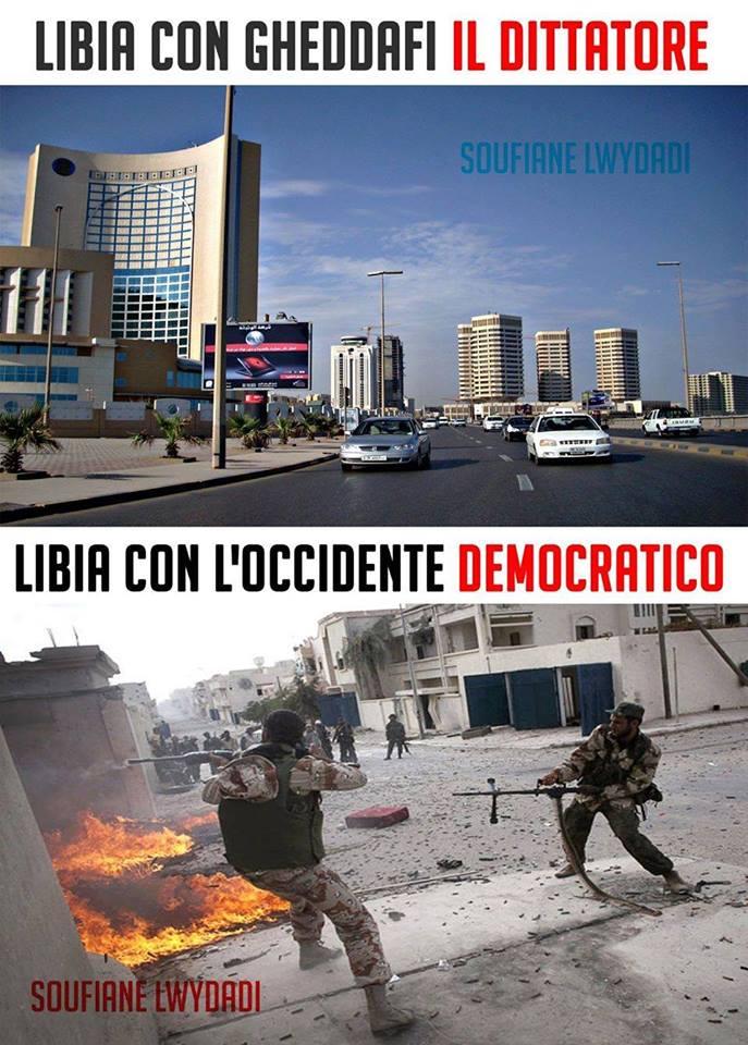 LIBIA GHEDDAFI PRIMA DOPO U