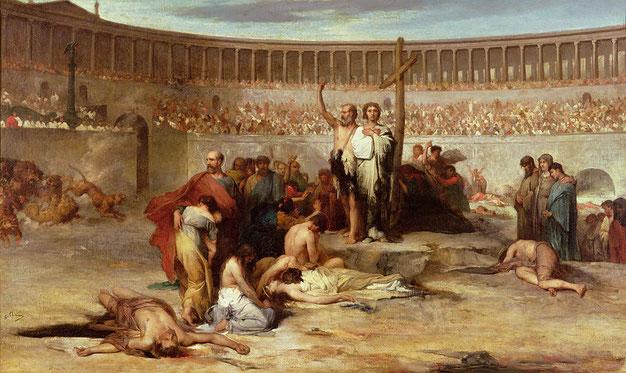 MARTIRI CRISTIANI ARENA