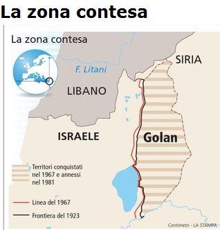GOLAN CARTINA