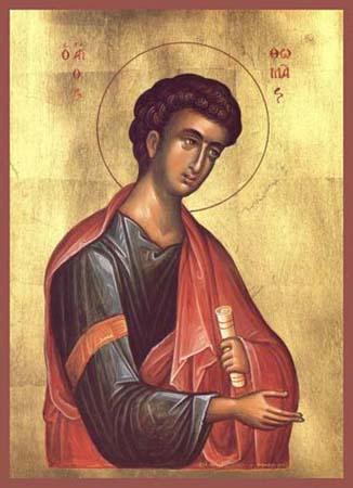 SAN TOMMASO APOSTOLO ICONA