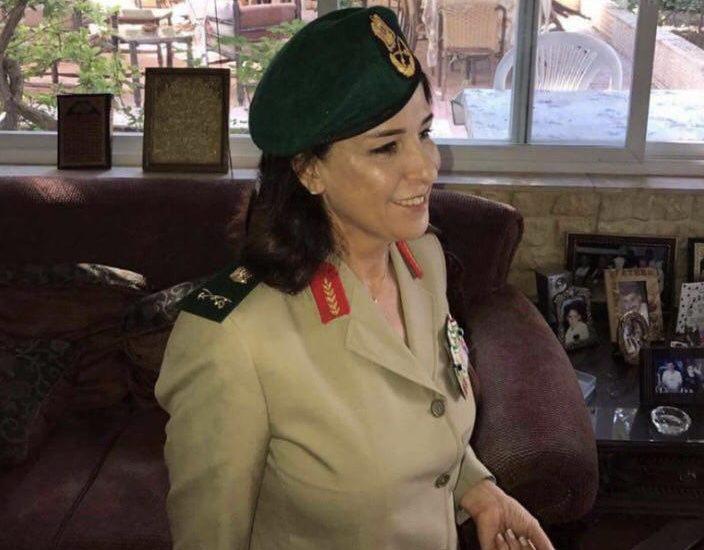 SIRIA ASSAD PROMUOVE DONNA MILITARE CAPO  Nibal Midhat Badr.jpg