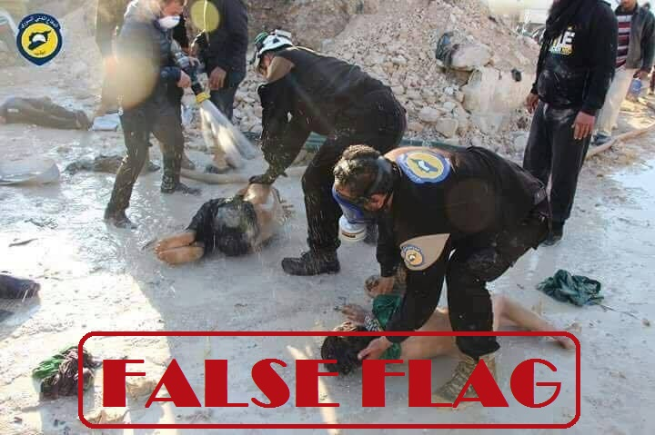 SIRIA ATTACCO CHIMICO IDLIB FALSE FLAG