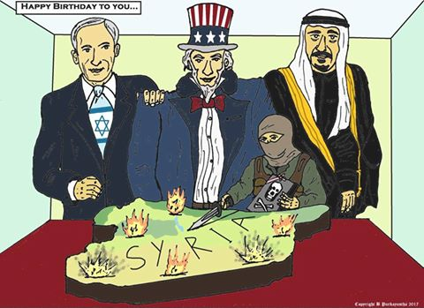 SIRIA I PRINCIPALI NEMICI USA ISRAEL SAUDITI TERRORISTI
