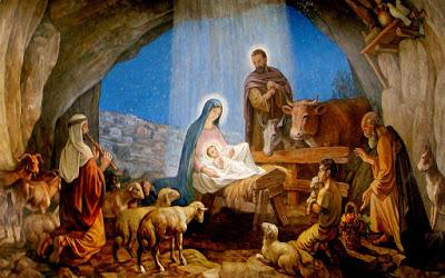 Risultati immagini per gesù nascita betlemme pastori